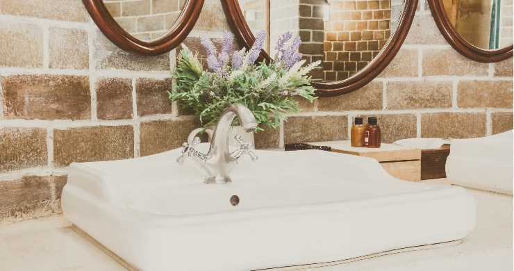 Rustic Home Bathroom Remodel