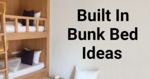 Built in Bunk Bed Ideas